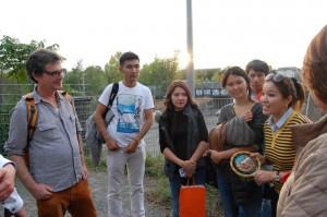 Führung zur Geschichte des Gleisdreieckparks
