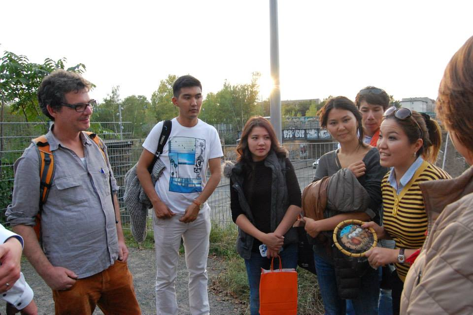 Besuch aus Kirgistan: Räume für eine lebenswerte Stadt