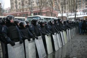 Polizei beim Euromaidan