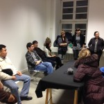 Die Gruppe 2013 zu Besuch im Coworking Space The Wye in der Skalitzer Straße