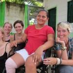 """Interview mit einer Migrantin in der Herberge """"Buen Pastor"""" in Tapachula, Mexiko."""