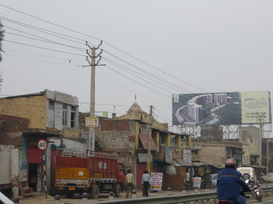Politische Reise nach Indien