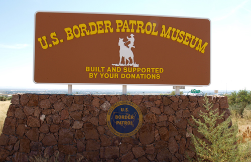 30. September 2015: Besuch des Border Patrol Museums in El Paso