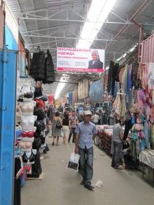 Der Dordoi-Basar in Bischkek war noch vor einigen Jahren einer der größten Warenumschlagplätze der Welt