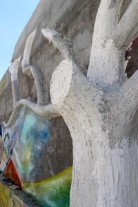 """Mauer der Einrichtung """"La Promesa"""""""