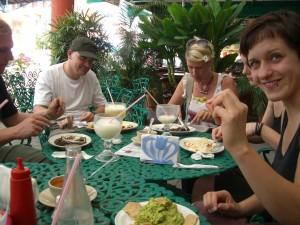Unser erstes Essen in Tapachula, Mexiko.
