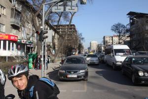 Fahrrad in Bischkek