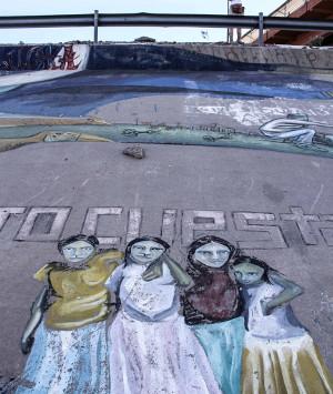 Graffiti am Grenzzaun – Kunst- & Stadtteilkollektive erobern öffentliche Räume