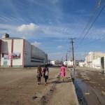 Innenstadt von Ciudad Juárez in unmittelbarer Nähe zur mexikanisch-us-amerikanischen Grenze