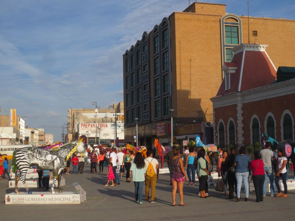 Zentrum von Ciudad Juárez